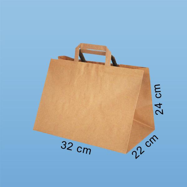 papiertaschen essen zum mitnehmen, papiertaschen takeaway, Konditortaschen, Bäckertaschen